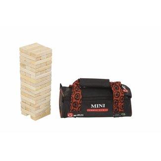 Ubergames Jenga Toren - Stapeltoren spel - 27 cm ECO hard-hout, in tas