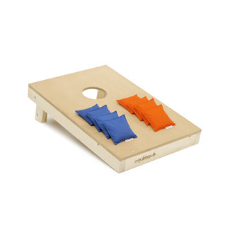 DoLoops Cornhole Made in Duitsland  bord met bags, 15kg. 90x60 cm