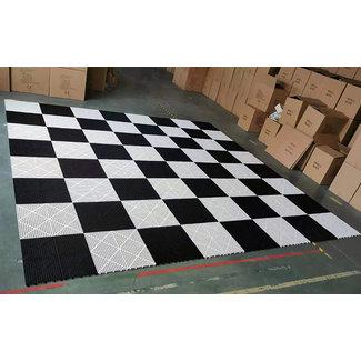 Ubergames Rubber 100kg. schaakbord 490x490 cm. UV waterproof
