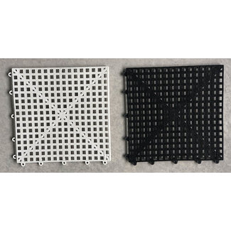 Ubergames Plastic Rubberised Vinyl Dam Schaakbord - 160x160 cm