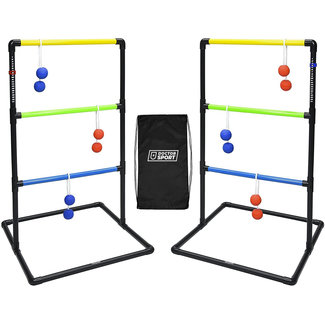 DrSport Dubbele Laddergolf Set - in tas - Super Real 'Soft' Golf-Bolas