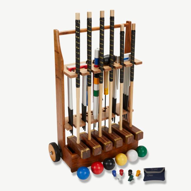 Ubergames Grootmeester Croquet spel spel  - 6 persoons - England Original