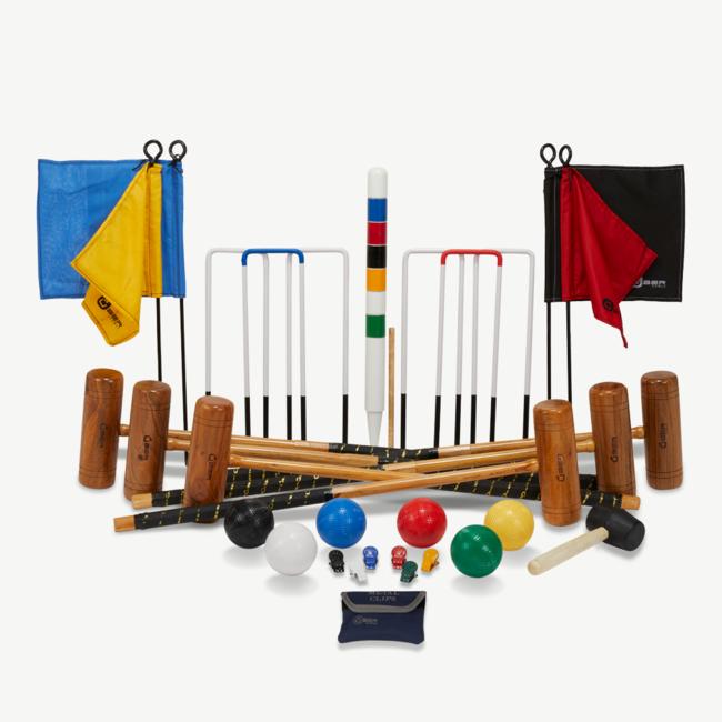 Ubergames Professionele  Croquet set - 6 pers. Croquetspel - Engeland