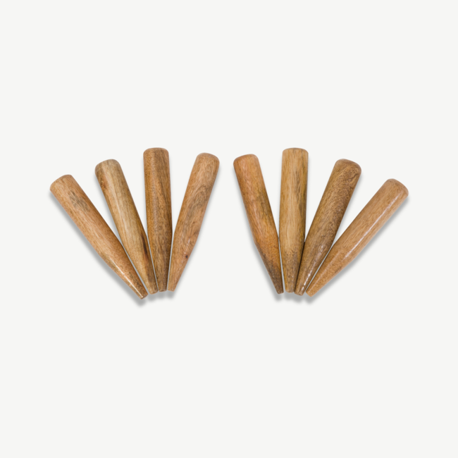 Ubergames Croquet tuin-markeerders x 8