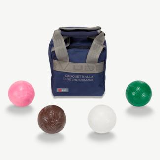 Ubergames Croquet Ballen - 473 gram kunststof - 2e Kleuren
