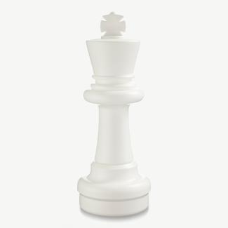 Ubergames Schaakstuk, Koning 64 cm, wit of zwart