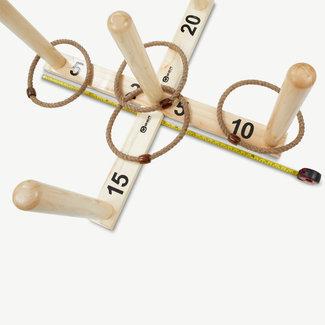 Ubergames Prof. Ringwerpen 100x100 cm bij 51 cm hoog  in luxe draagtas