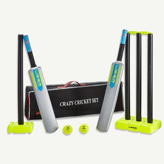 Ubergames RAM Crazy Cricket set incl.. Stumps Bal bat en Tas
