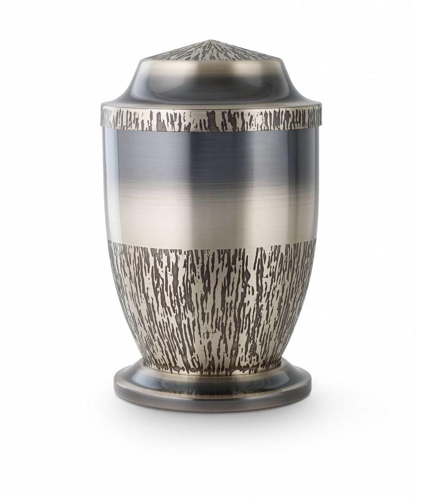 Reliëf urn nikkel look - staal