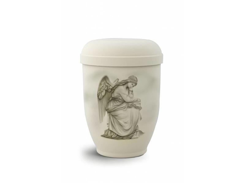 Rouwende engel urn - bio