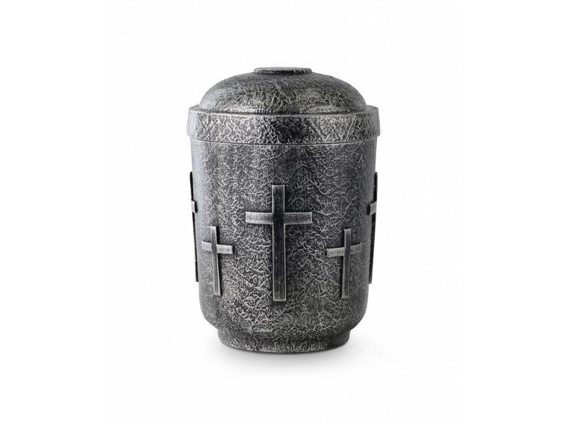 Keramische kruis urn - Keramiek