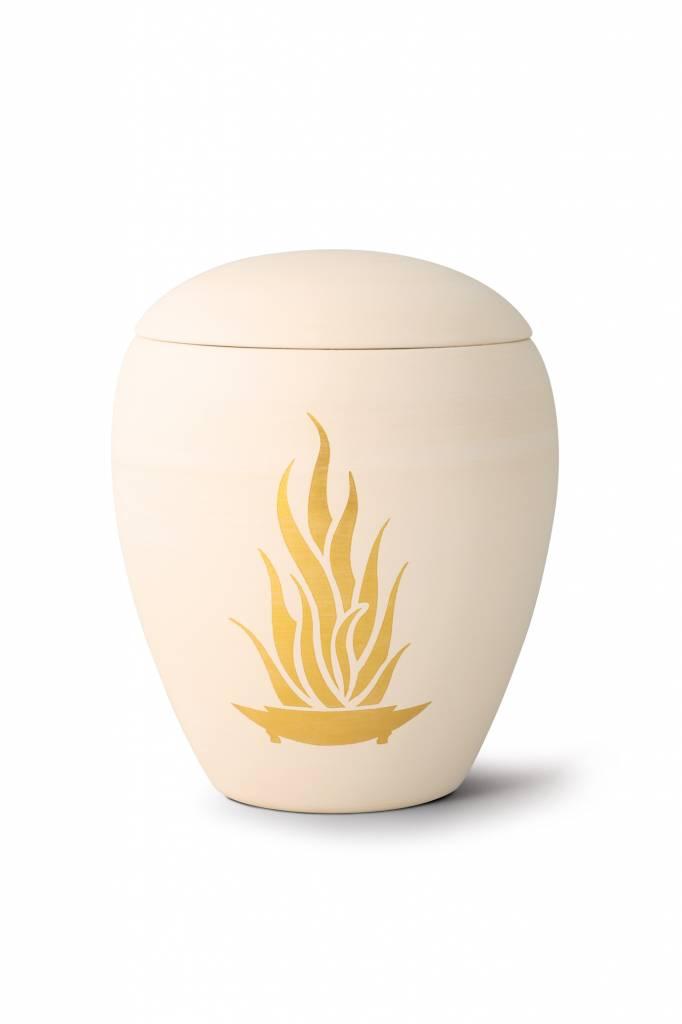 Siena vlammen urn - Keramiek