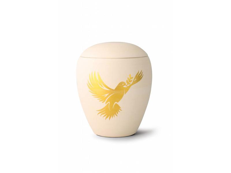 Siena vredesduif urn - Keramiek