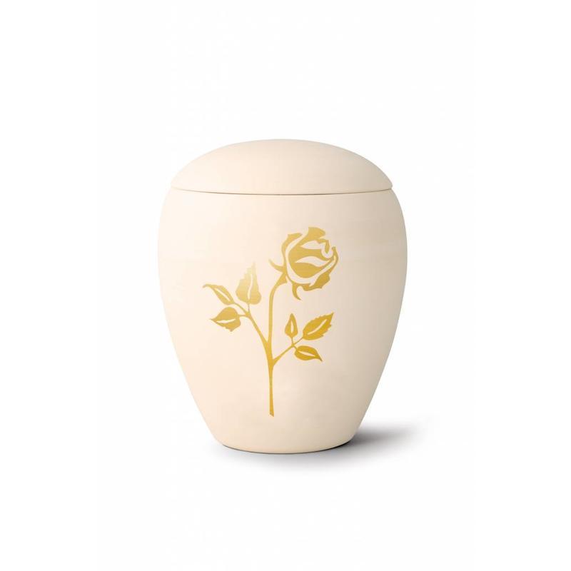 Siena roos urn - Keramiek