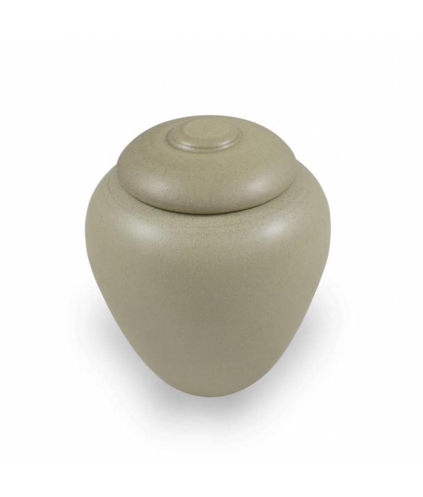 Keramische urn klassiek klein jade