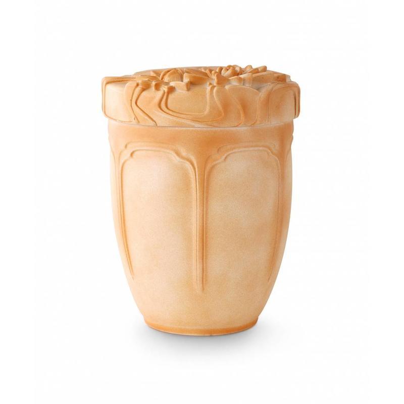 Terracotta waterlelie urn - Keramiek