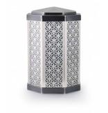 Zilveren lelies asbus - koper