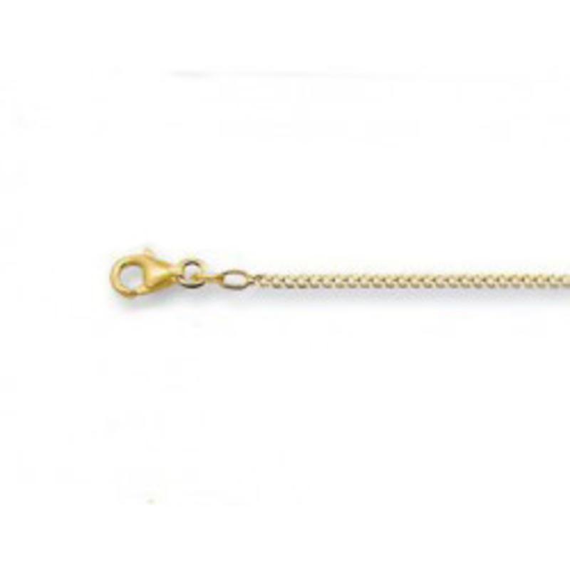 Gourmet halsketting 45 cm -1.8 mm - goud