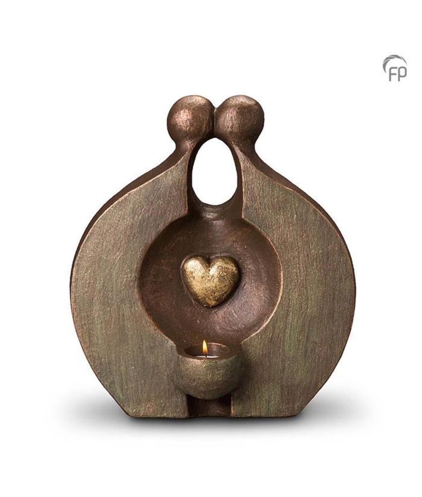 Herinnering met licht - Duo urn keramiek