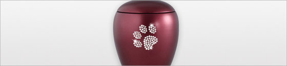 Keramische dieren urnen