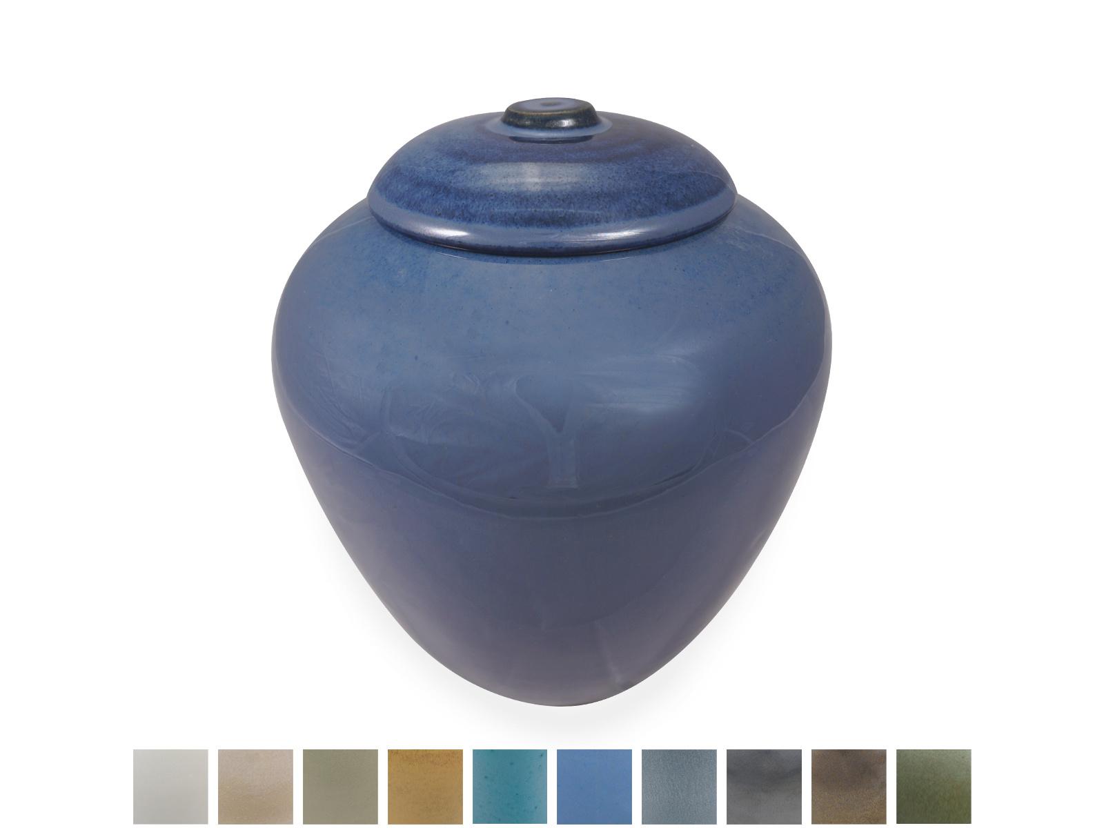 Keramische urn klassiek medium