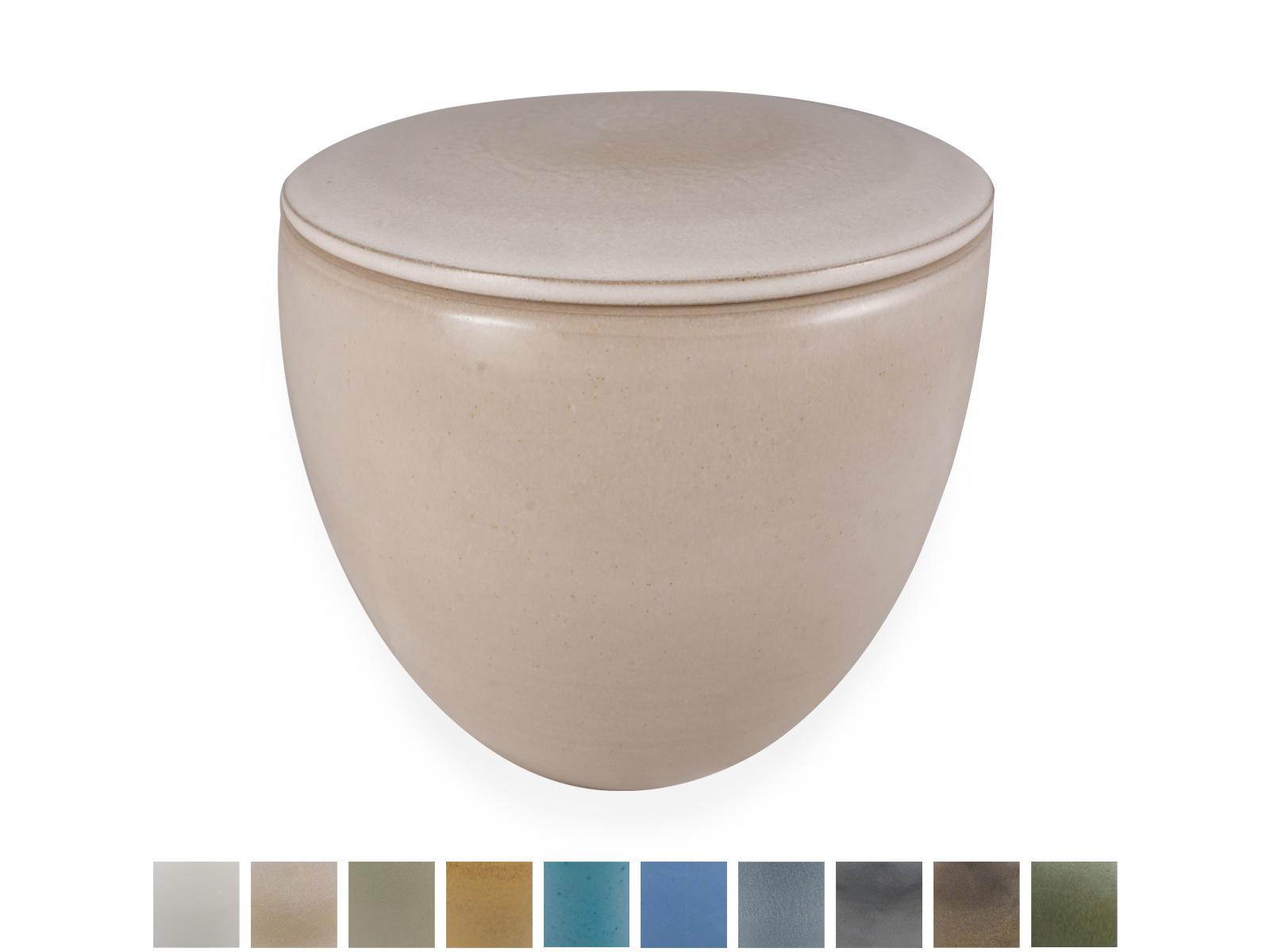 Keramische urn modern medium