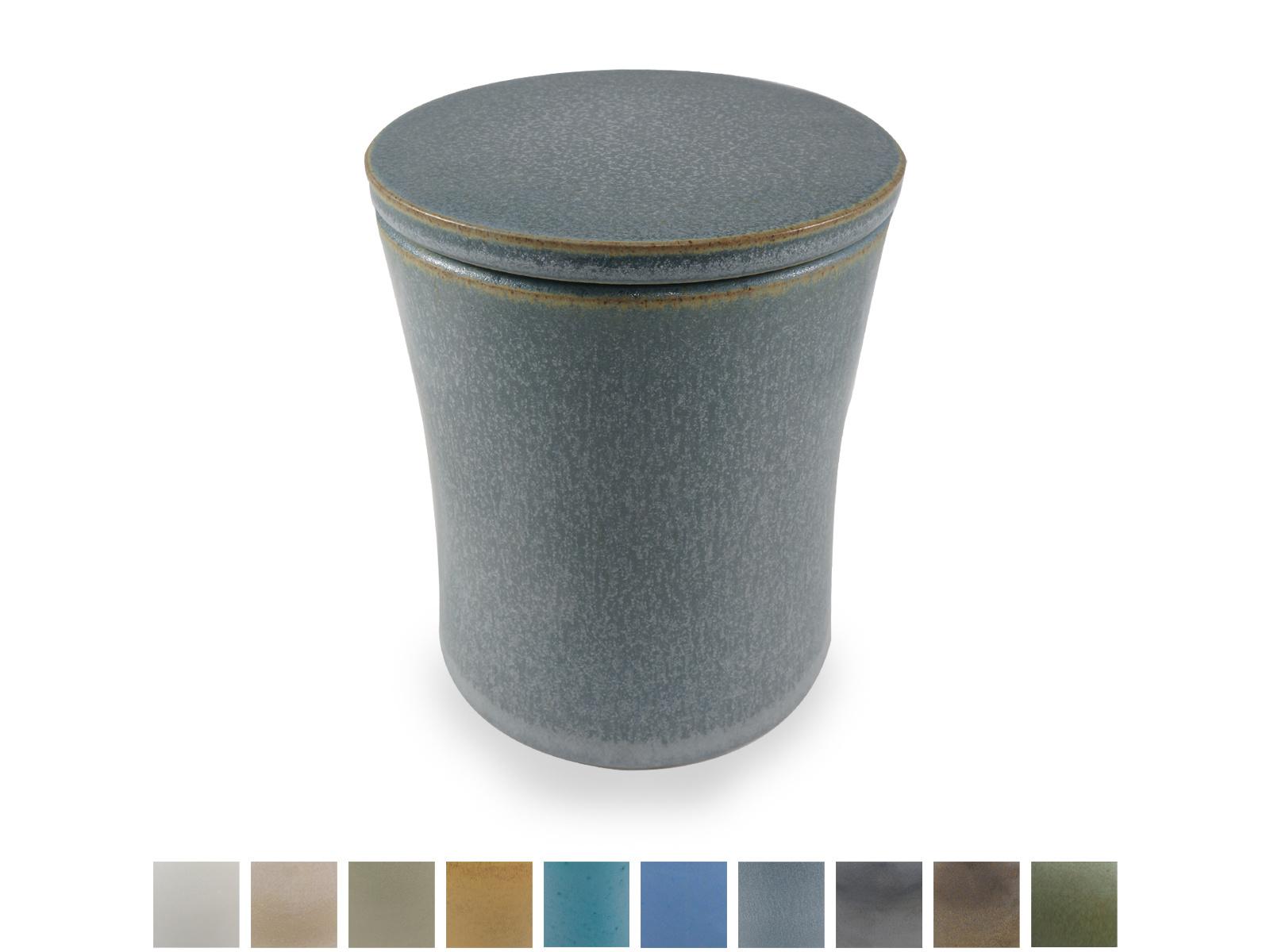 Keramische urn getailleerd klein