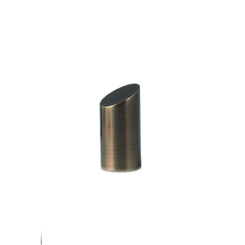 Mini urn gebroken pijler  - Messing