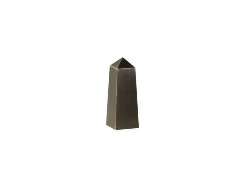 Mini urn gedenknaald  - Messing