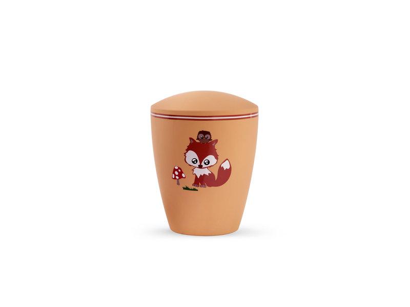 Kinder urn vosje oranje - bio