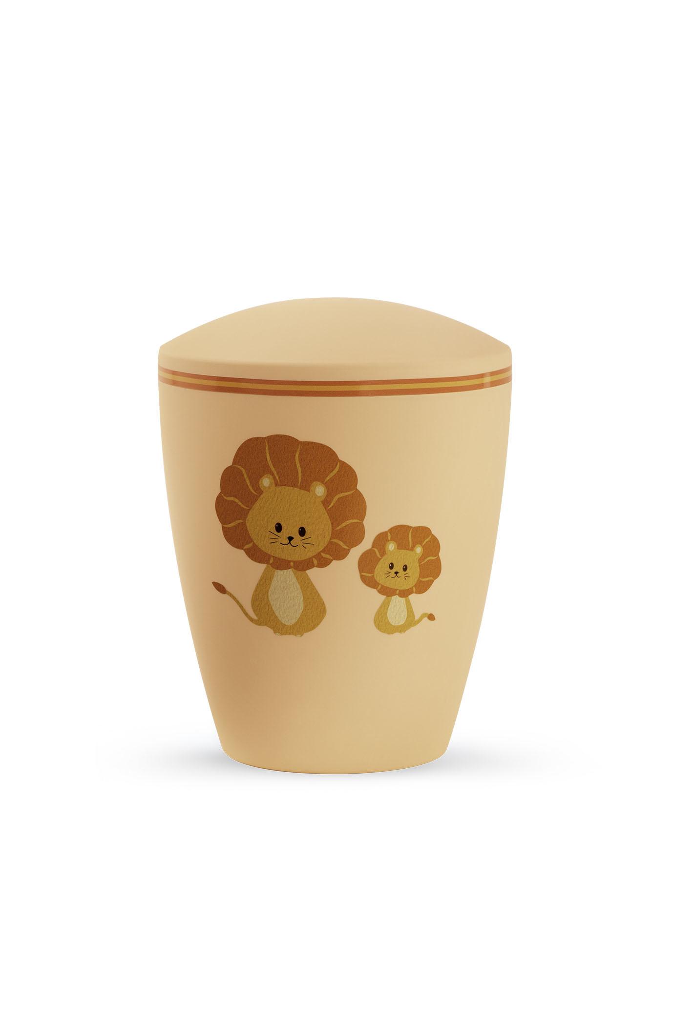 Kinder urn leeuwen oranje - bio