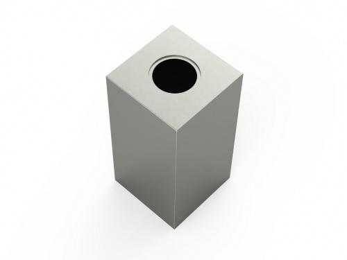RVS urn paris klein - RVS