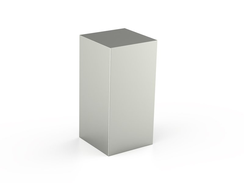 RVS urn paris groot - RVS