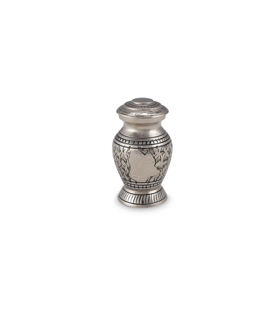Eagle urn mini - messing