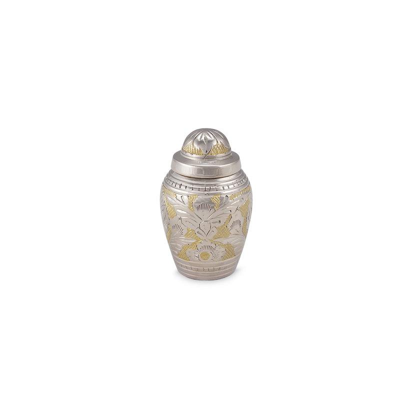 Mini urn renaissance - messing