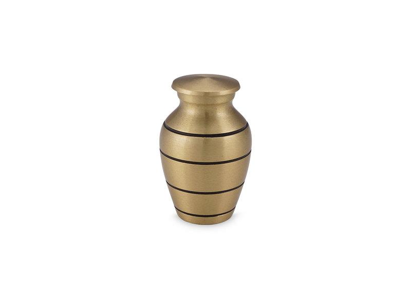 Mini urn brons - messing