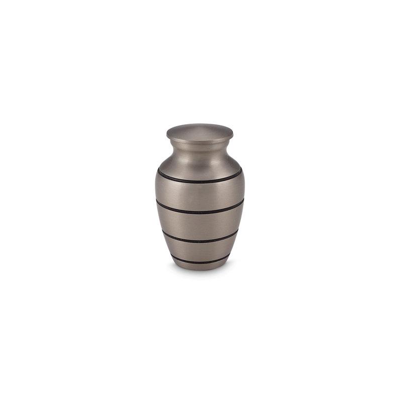 Mini urn platinum - messing