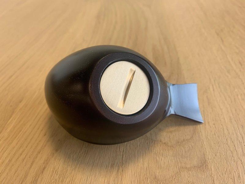 Mini urn vogel - brons