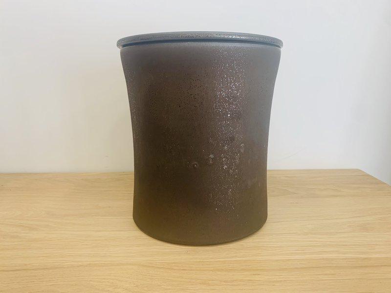 Keramische urn getailleerd groot