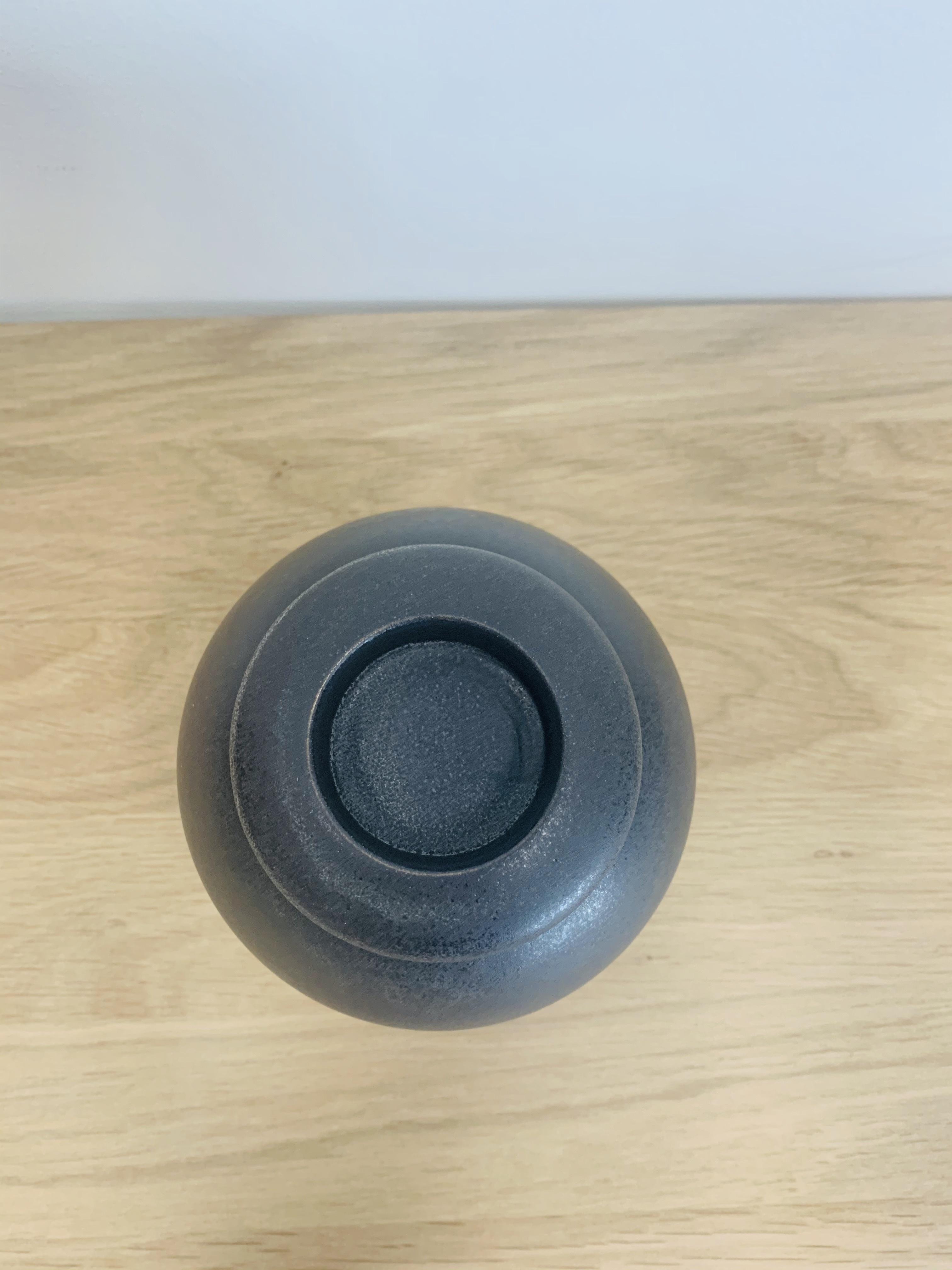 Keramische urn elegant klein met kaarsje - verkrijgbaar in 10 kleuren