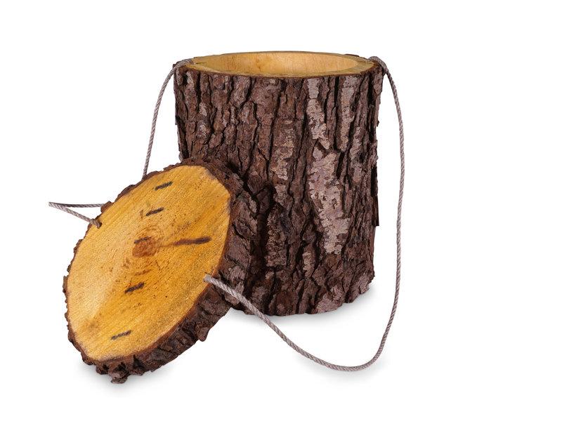 Els boom urn - hout