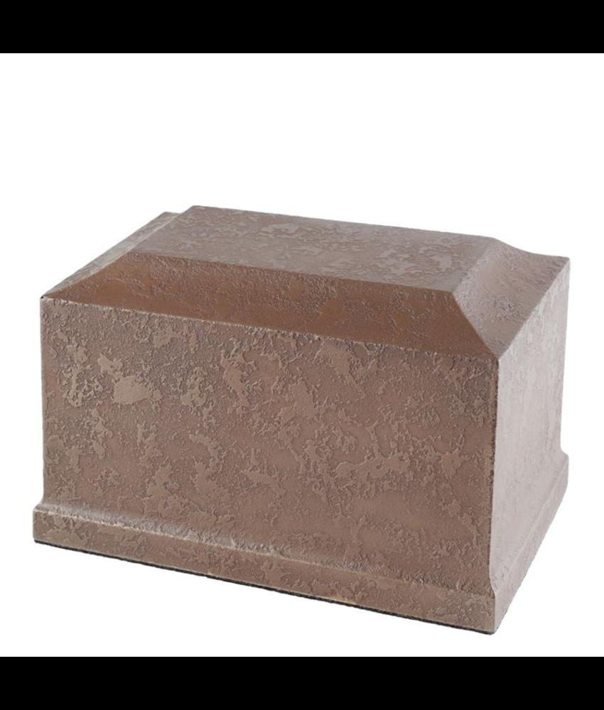 Urn dorchester copper groot - polyresin