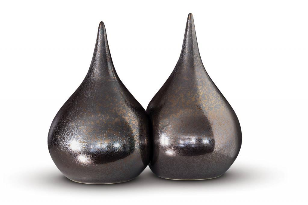 Duo urn thulet - keramiek