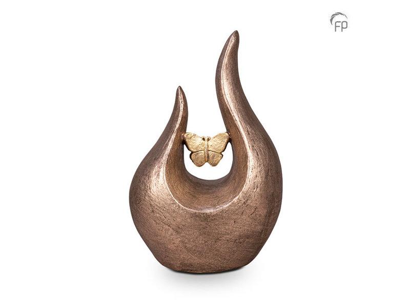 Fuego urn vlinder - keramiek