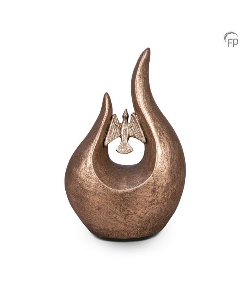 Fuego urn vogel - keramiek