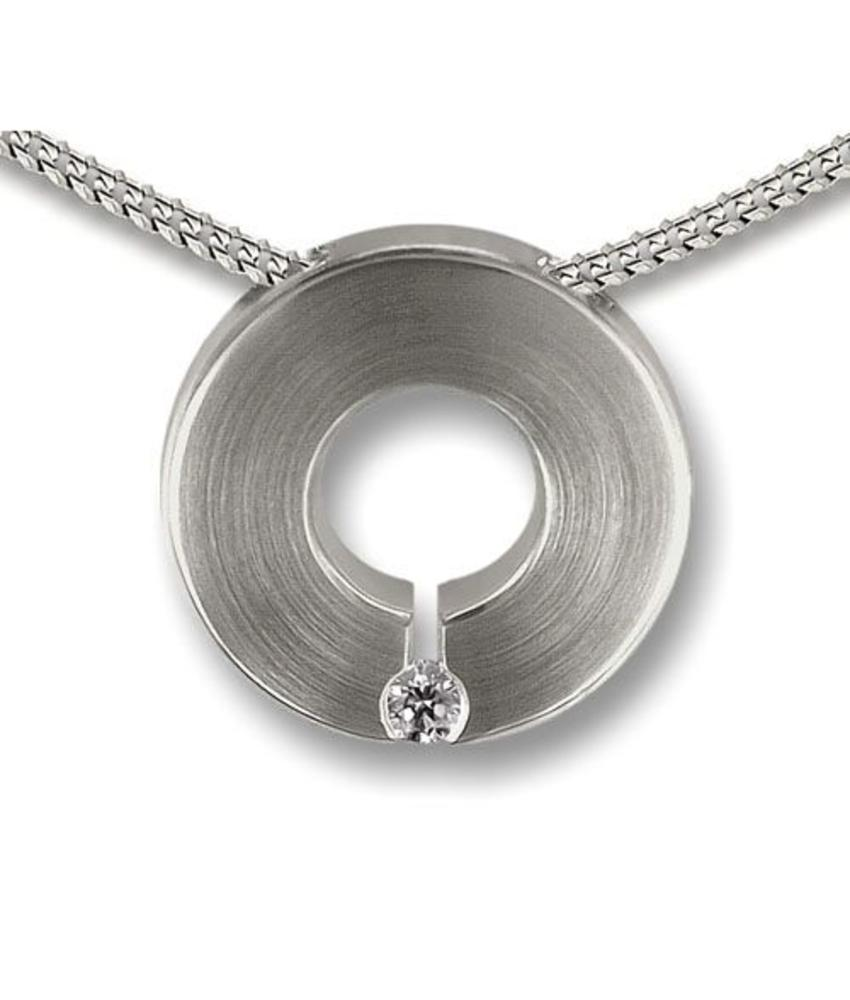 Ashanger de heritage - 925 Sterling zilver met zirkonia