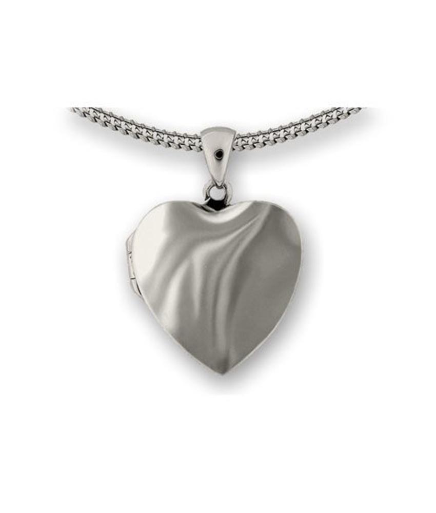 Ashanger wolken hart medallion - 925 Sterling zilver