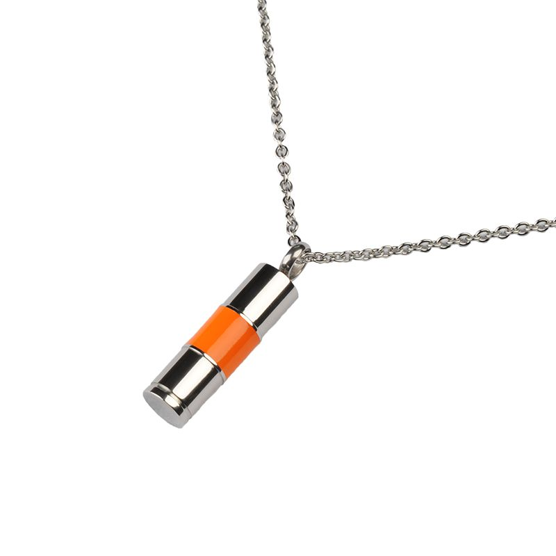 Ashanger oranje asbus - RVS