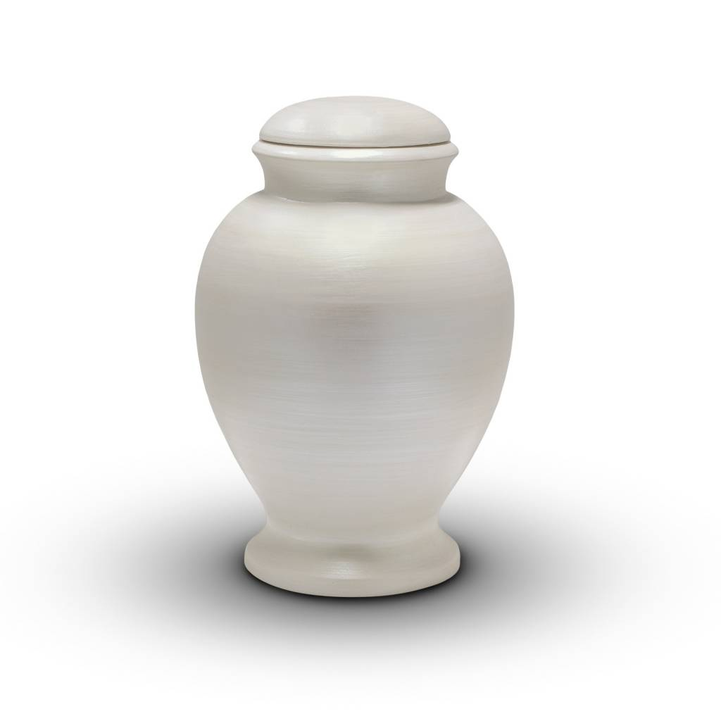 Eco urn witte amphora - bio