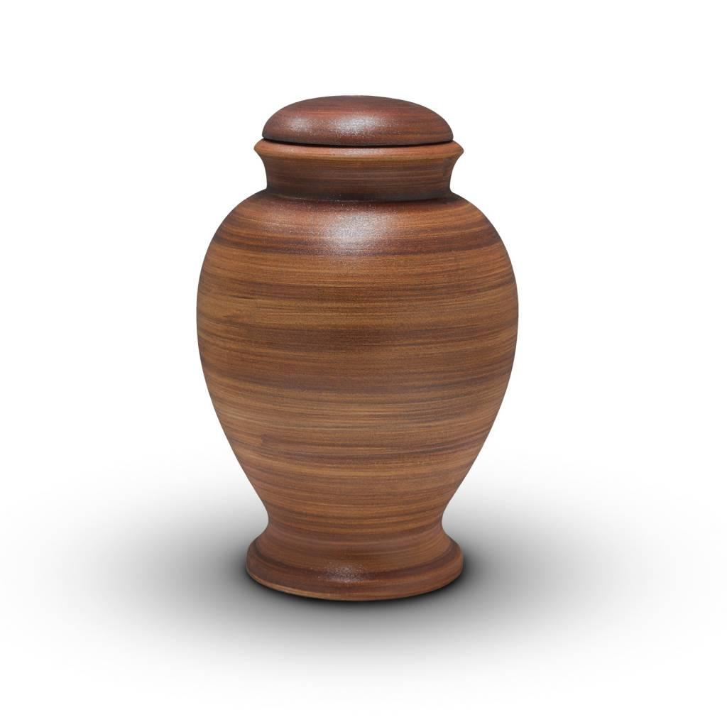 Eco urn bruine amphora - bio